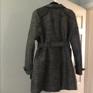 Guess Jackets & Coats - Guess Coat with Belt and Double-Button Front